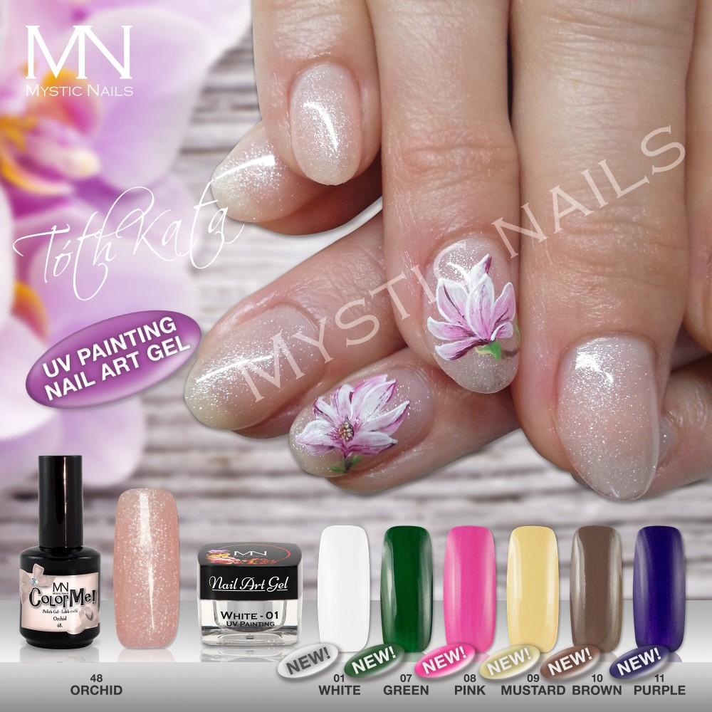 UV Painting Nail Art Gel - Ice Cream - Vanilla - 4g in the Novelties ...