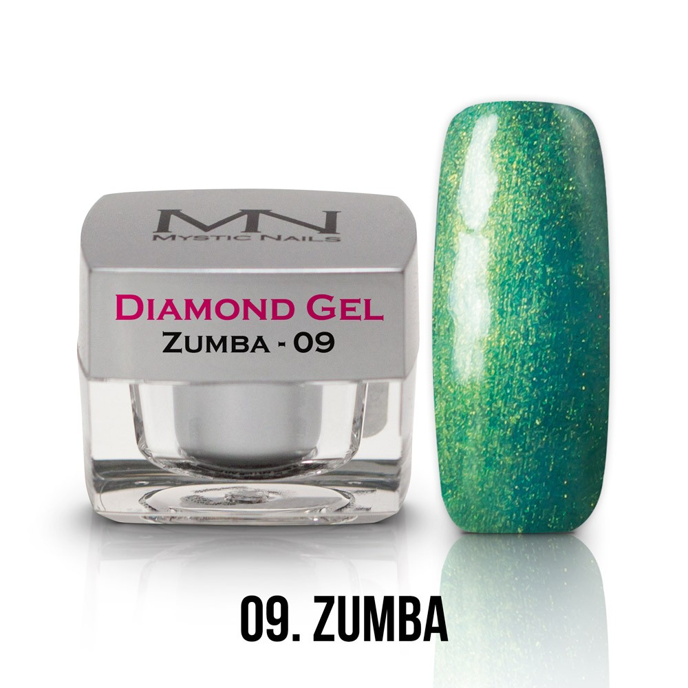 Diamond Gel - no.09. - Zumba - 4g - Diamond Gels - Mystic Nails ...