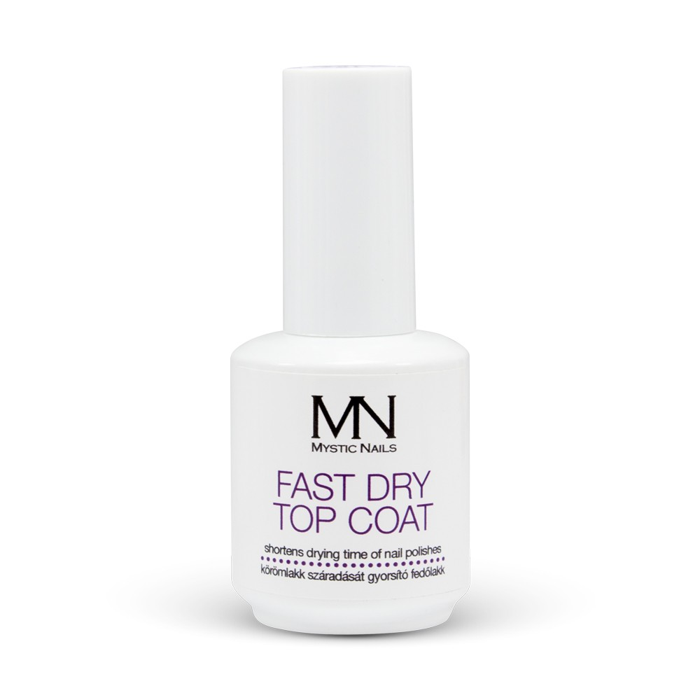 Fast Dry Top Coat - 10ml in the MyStyle Nail Polishes - Metallic ...