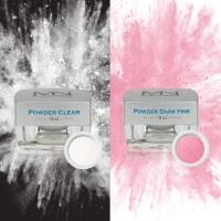 Clear and Pink Powders