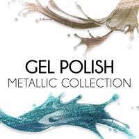 Gel Polish Metallic Collection 12 ml
