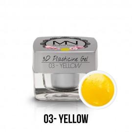 3D Plasticine Gel - 03 - Yellow - 3,5g