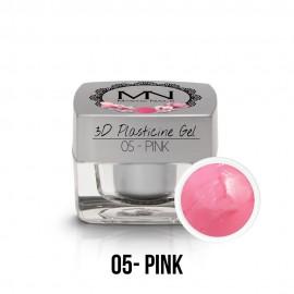 3D Plasticine Gel - 05 - Pink - 3,5g