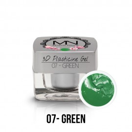 3D Plasticine Gel - 07 - Green - 3,5g
