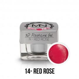 3D Plasticine Gel - 14 - Red Rose - 3,5g