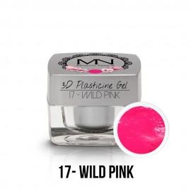 3D Plasticine Gel - 17 - Wild Pink - 3,5g
