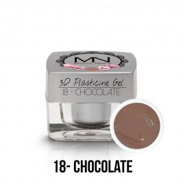 3D Plasticine Gel - 18 - Chocolate - 3,5g