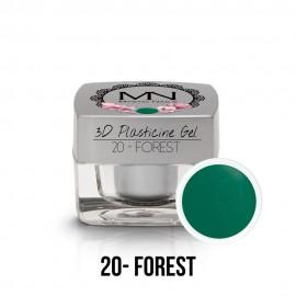 3D Plasticine Gel - 20 - Forest - 3,5g