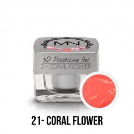 3D Plasticine Gel - 21 - Coral Flower - 3,5g