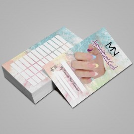Appointment Card English - 2019 - 03 - 25 pcs / set