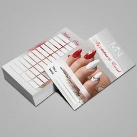 Appointment Card English - 2020 - 02 - 25 pcs / set