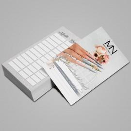 Appointment Card English - 2021 - 02 - 25 pcs / set