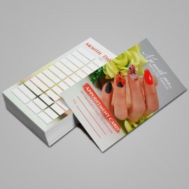 Appointment Card English - 2021 - 04 - 25 pcs / set
