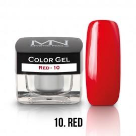 Color Gel - 10 - Red - 4g