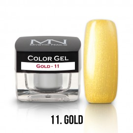 Color Gel - 11 - Gold - 4g