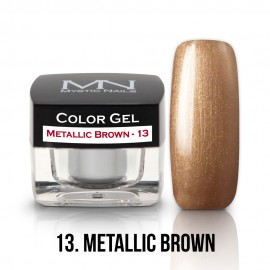 Color Gel - 13 - Metallic Brown - 4g