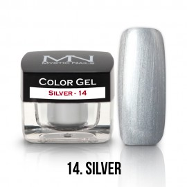 Color Gel - 14 - Silver - 4g