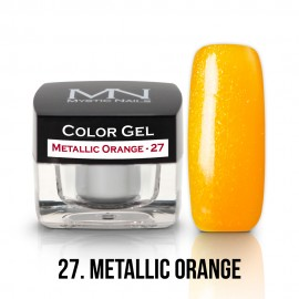 Color Gel - 27 - Metallic Orange - 4g