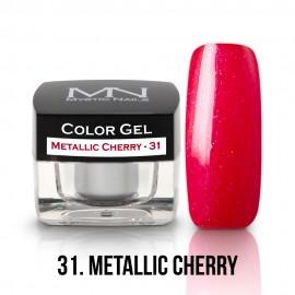 Color Gel - 31 - Metallic Cherry - 4g