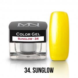 Color Gel - 34 - Sunglow - 4g