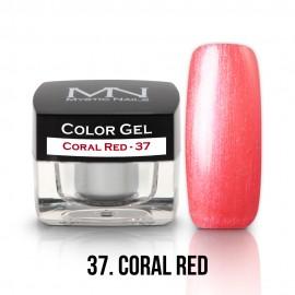 Color Gel - 37 - Coral Red - 4g