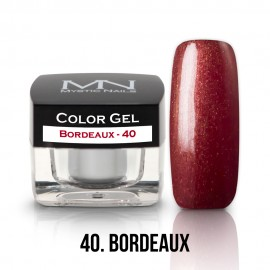 Color Gel - 40 - Bordeaux - 4g