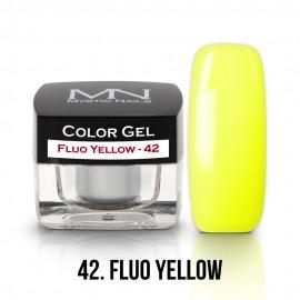 Color Gel - 42 - Fluo Yellow - 4g