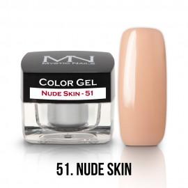Color Gel - 51 - Nude Skin - 4g