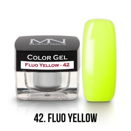 Color Gel - 42 - Fluo Yellow - 4g