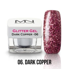 Glitter Gel - no.06. - Dark Copper - 4g