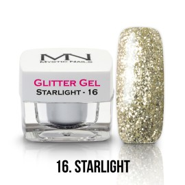 Glitter Gel - no.16. - Starlight - 4g