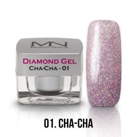 Diamond Gel - no.01. - Cha-Cha - 4g