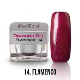 Diamond Gel - no.14. - Flamenco - 4g