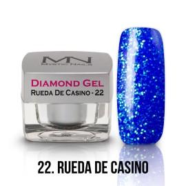 Diamond Gel - no.22. - Rueda De Casino - 4g