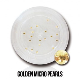 Golden Micro Pearls