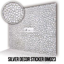 Silver Decor Sticker BM023