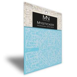 Mysticker - F67 white