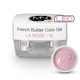 French Builder Color Gel - III. - la Rose -15g