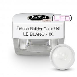 French Builder Color Gel - IX. - le Blanc -15g