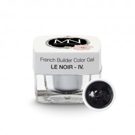 French Builder Color Gel - IV. - le Noir - 4g - Limited Edition