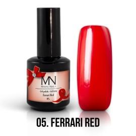 Gel Polish 05 - Ferrari Red 12ml