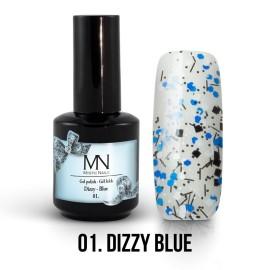 Gel Polish Dizzy 01 - Dizzy Blue 12ml