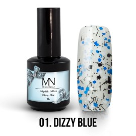 Gel Polish Dizzy 01 - Dizzy Blue 12ml