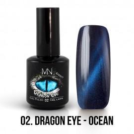 Gel Polish Dragon Eye Effect 02 - Ocean 12ml