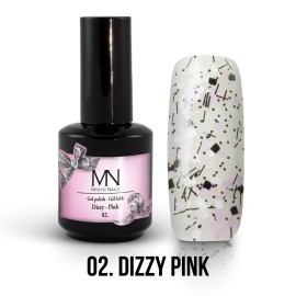 Gel Polish Dizzy 02 - Dizzy Pink 12ml
