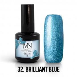 Gel Polish 32 - Brilliant Blue 12ml