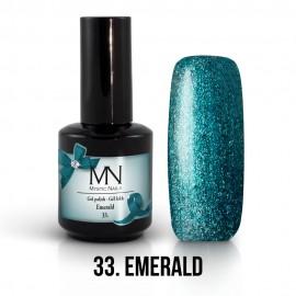 Gel Polish 33 - Emerald 12ml