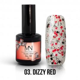 Gel Polish Dizzy 03 - Dizzy Red 12ml