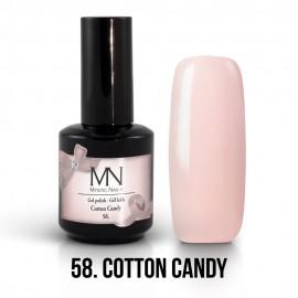 Gel Polish 58 - Cotton Candy 12ml