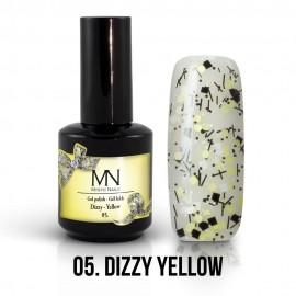Gel Polish Dizzy 05 - Dizzy Yellow 12ml